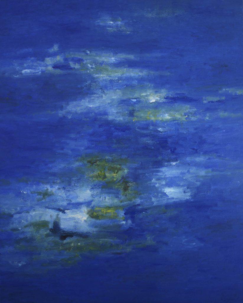 青の絵画作品